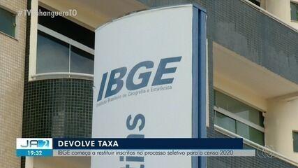 IBGE começa a restituir inscritos para o processo seletivo do censo 2020