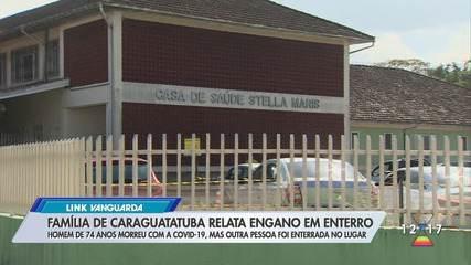 Família de Caraguatatuba relata troca de corpos em enterro