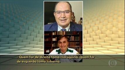 Bolsonaro anuncia novo protocolo para uso da cloroquina e faz piada sobre o assunto