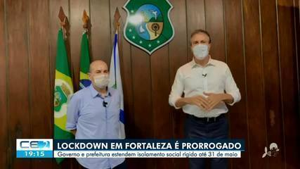 'Lockdown' é prorrogado até o fim do mês na capital