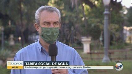 Prefeitura de Ribeirão Preto prorroga suspensão da tarifa de água para famílias carentes