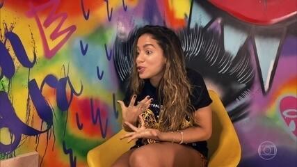 Anitta comenta sobre como a pandemia vai influenciar o mercado do entretenimento