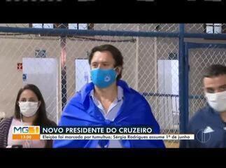 Cruzeiro elege Sérgio Rodrigues como novo presidente