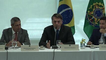 Bolsonaro: 'Qualquer dos poderes pode pedir às Forças Armadas que intervenham'