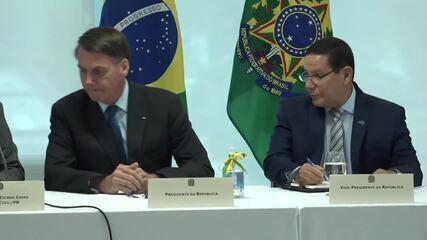 Veja a íntegra da reunião ministerial no Palácio do Planalto
