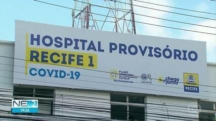 Hospitais de campanha do Recife recebem pacientes de outras cidades