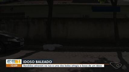 Aposentado de 67 anos é baleado durante tiroteio em Vila Velha, ES