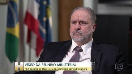 Procurador-geral da República vai analisar vídeo da reunião ministerial do dia 22 de abril