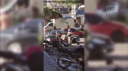 Homem é detido após desacatar agentes da Guarda Municipal em Teresópolis