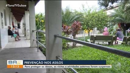 Asilos em Feira de Santana adotam medidas para prevenir disseminação do coronavírus