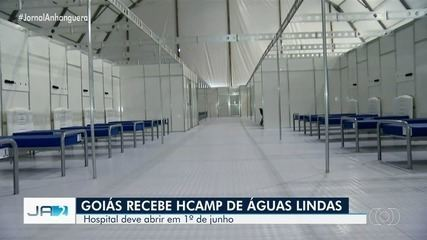 Hospital de Campanha de Águas Lindas de Goiás começa a receber pacientes em 1º de junho