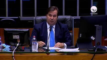 Rodrigo Maia: 'Nosso grande desafio é vencer o coronavírus preservando a nossa democracia'