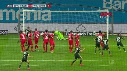 Melhores momentos de Bayer Leverkusen 1 x 4 Wolfsburg pelo Campeonato Alemão