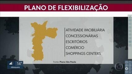 Capital entra na 'faixa laranja' do Plano de Flexibilização