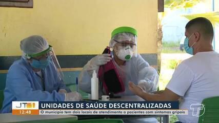 Unidades descentralizadas atendem a pacientes com sintomas gripais em Santarém
