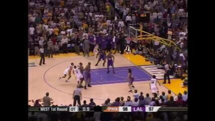 Kobe Bryant - Infiltração salvadora e arremesso heroico em 2006