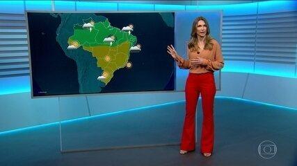 Veja a previsão do tempo para sexta-feira (29) no Brasil