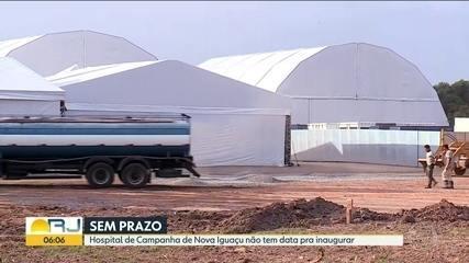 Adiada a inauguração do Hospital de Campanha de Nova Iguaçu