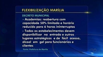 Marília publica decreto com serviços que abrem a partir de segunda-feira