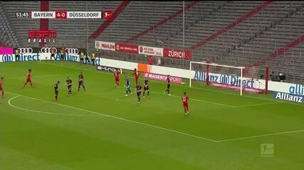 Os gols de Bayern de Munique 5 x 0 Fortuna Dusseldorf pelo Campeonato Alemão