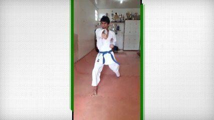 Carlos Eduardo, do Amazonas, vence torneio roraimense de Kata online