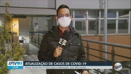 Ernane Fiuza atualiza os casos de coronavírus confirmados neste sábado (30) no Sul de MG