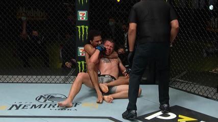 Melhores Momentos de Roosevelt Roberts x Brok Weaver no UFC: Woodley x Durinho.