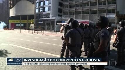Polícia investiga confrontos na Av. Paulista