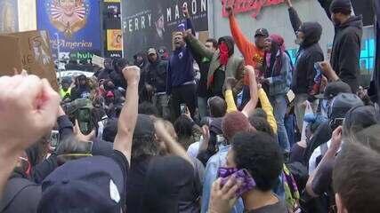 EUA têm sétimo dia de protestos antirrascistas