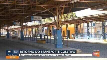 Retomada do transporte em Lages será feita na segunda-feira