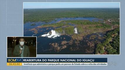 Reabertura do Parque Nacional do Iguaçu