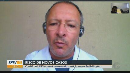 Comitê da UFScar prevê aumento do contágio com a flexibilização em São Carlos
