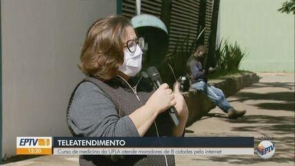 Curso de medicina da Ufla atende moradores de oito cidades pela internet