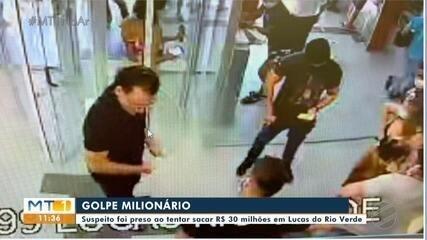 Em Lucas, preso suspeito de golpe milionário