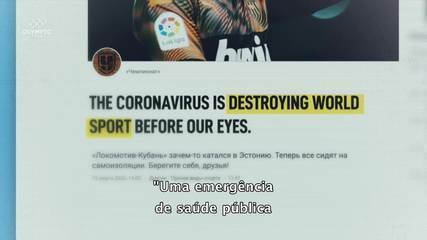 """All Around"" #9: o mundo esportivo é paralisado pelo coronavírus"