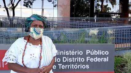 Mãe Baiana de Oyá, xingada por Sérgio Camargo, presta depoimento ao MP