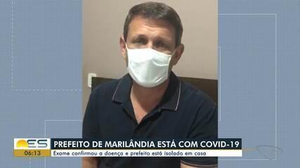 Prefeito de Marilândia é diagnosticado com Covid-19