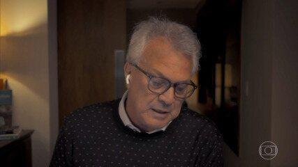Pedro Bial lê as últimas palavras de George Floyd antes de morrer