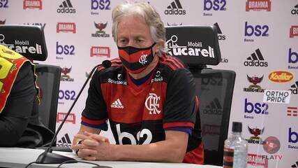 Jorge Jesus renova com o Flamengo