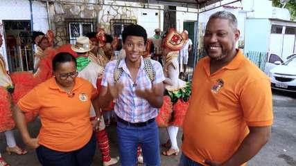 Aldri Anunciação conhece a cultura junina do bairro da Capelinha, em Salvador