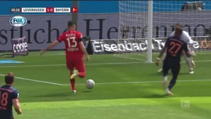 Os gols de Bayer Leverkusen 2 x 4 Bayern de Munique pelo Campeonato Alemão