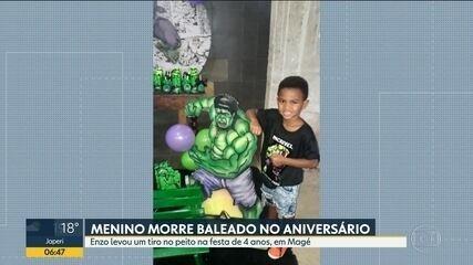 Vai ser enterrado hoje o menino Enzo, de 4 anos