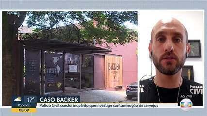 Polícia Civil conclui inquérito que investiga contaminação de cerveja da Backer