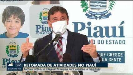 Governo do Piauí começa retomada gradual de atividades econômicas