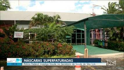 PF e CGU fazem operação contra desvio na compra de máscaras no Maranhão