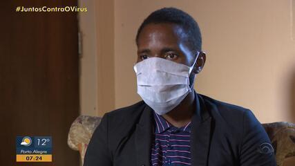 Angolano baleado por engano presta depoimento à corregedoria da BM em Porto Alegre