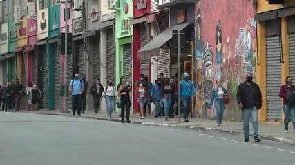 Comércio de rua reabre nesta quarta (10) em SP