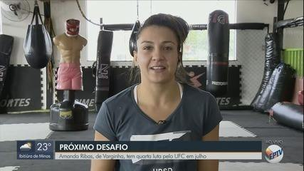 Amanda Ribas, de Varginha, tem quarta luta pelo UFC em julho