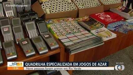 Polícia prende grupo suspeito de promover jogos de azar, em Rio Verde