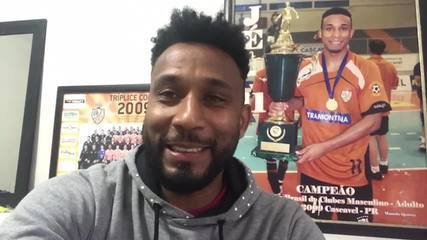 Jé fala sobre o título do Carlos Barbosa na Liga Nacional de Futsal 2009